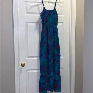 Express Floral Maxi Dress